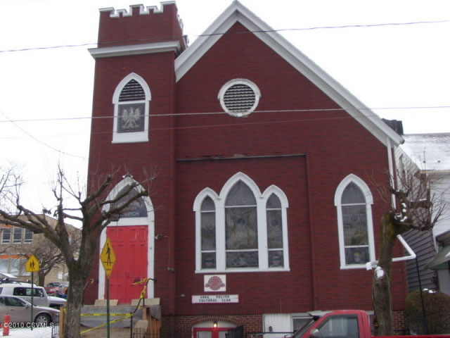 Beautiful Church Building For Sale In Mt.Carmel, PA $33,000